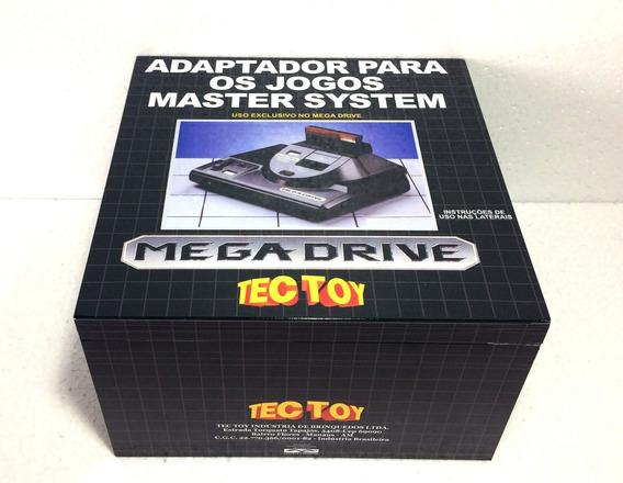 Caixa Vazia Adaptador Jogos Master System Em Madeira Mdf