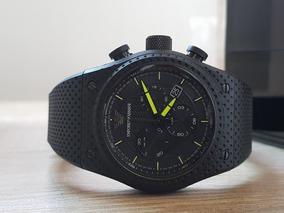 Relógio Empório Armani Masculino Ar6120/8pn Silicone / Aço