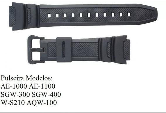 Pulseira Casio Sgw-500 Similar Preta Sgw-500h