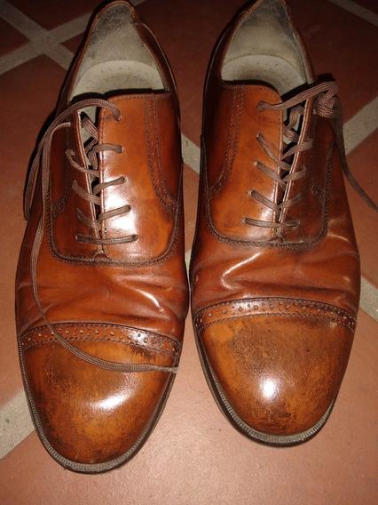 Zapatos Vestir Importados Marrones Charolados