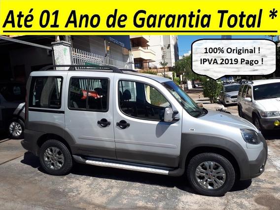 Fiat Doblo Adventure 1.8 Flex Completa Ipva 2019 Pago