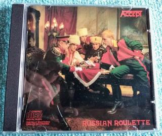 Accept Russian Roulette (cd) Importado Usa 1986