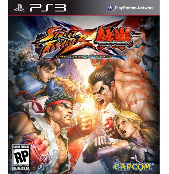 Street Fighter X Tekken Ps3 Psn Digital Envio Na Hora