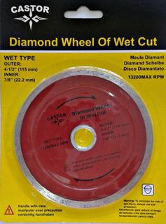 Disco De Corte Diamantado De 7-1/4 (180 Mm) Continuo