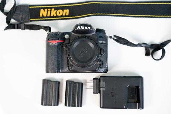 Camera Nikon D7000 (corpo) 2 Baterias