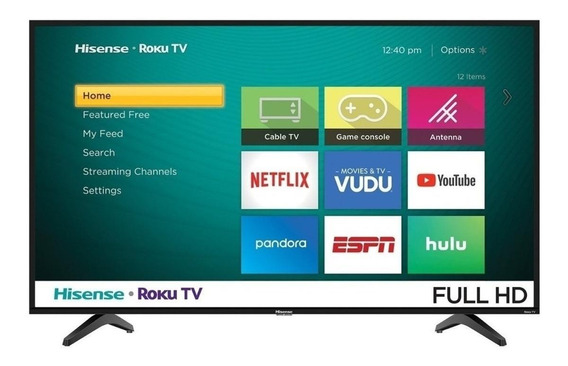 "Smart TV Hisense Full HD 40"" 40H4030F"