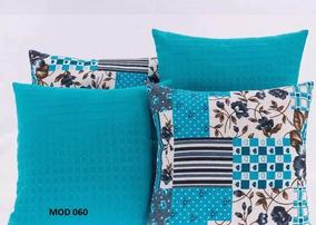 065bbf40c17e77 Capa Almofada Azul Turquesa Listrada - Casa, Móveis e Decoração no ...