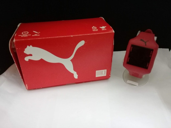 Reloj Unisex, Moderno, Deportivo Marca Puma Color Rojo