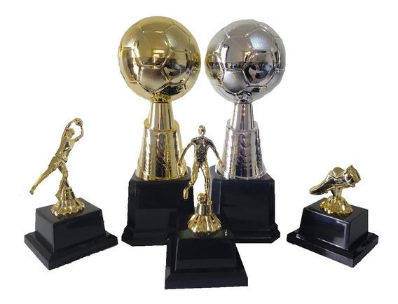 Kit Melhores Do Campeonato - Trofeu Premiação Original Campo Futsal Society