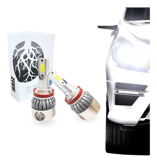 Super Lâmpada Led H9 C6 Xenon Haiz Para Carro Efeito