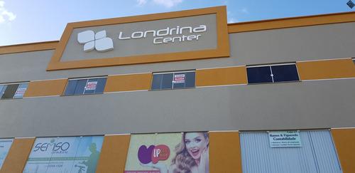 Imagem 1 de 24 de Loja Térrea, Londrina Center, Frente De Rua, Mezanino - Vilas Do Atlântico - Lj00052