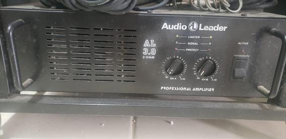 Amplificador Audio Leader 3.0 Potencia 2 4 8 Ohms