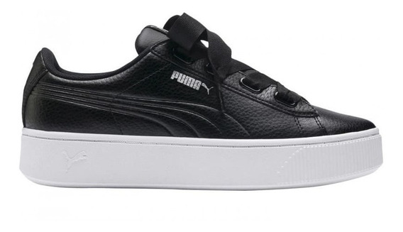 Zapatillas Puma Vikky Stacked Ribbon Dama 370402 Moda Asfl70