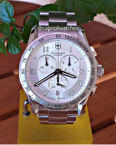 Lindo Relógio Victorinox Swiss Army Xls 45mm 241654