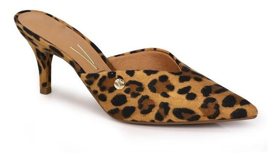 Sapato Salto Mule Vizzano Onça
