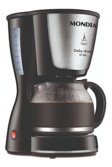 Cafeteira Dolce Arome Inox 32x Mondial