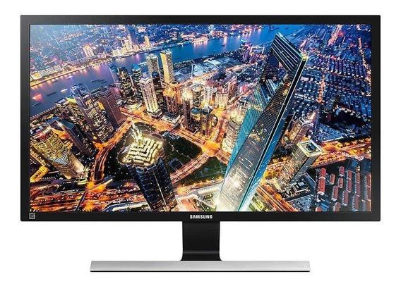 """Monitor Samsung U28E590D LED 28"""" negro 110V/220V"""
