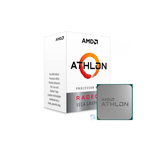 Processador Amd Athlon 200ge 3,2ghz 5mb Vega 3 Yd200gc6fbbox