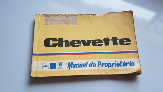Manual Do Proprietário Chevette 1978/1979