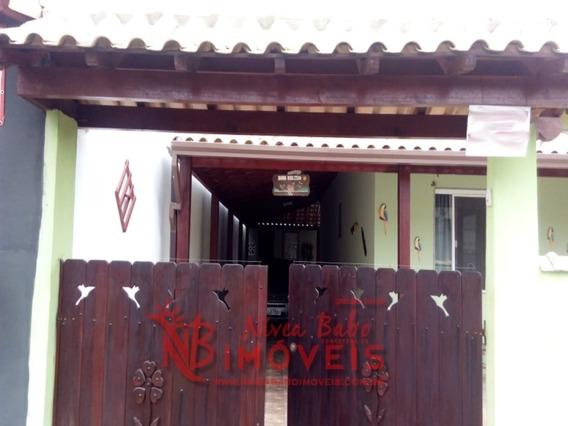 Linda Casa Em Condomínio Fechado, 5 Minutos Da Praia De Unamar, Cabo Frio - Vcap 151 - 33748585
