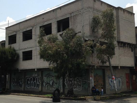 Venta Edificio Comercial Nezahualcoyotl, Ideal Para Inversionistas
