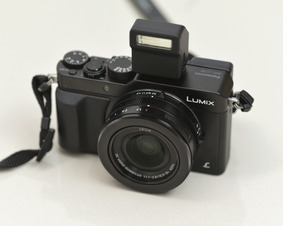Camera Panasonic Lumix Lx100 4k Wifi Lente Leica M4/3