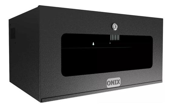 Mini Rack Organizador 5u Acrílica Onix P/ Dvr - Cor Preto