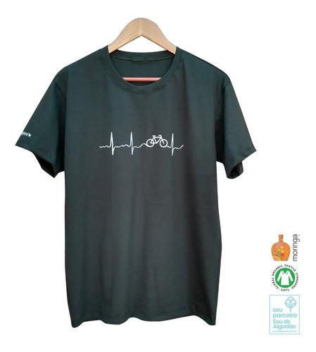 Camiseta Eletrobike, Ecológica - 100% Algodão Orgânico