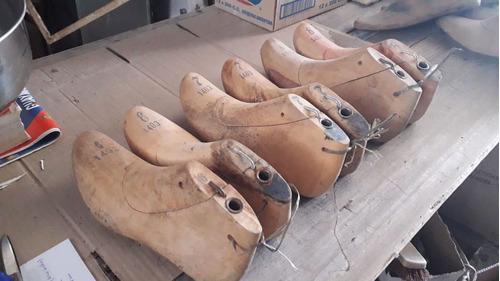 6 Hormas De Zapato Calzado Son 3 Pares En Lote