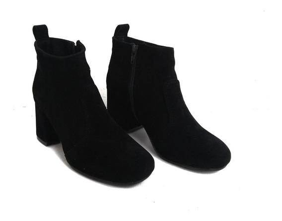 Bota Zapato Botita Mujer Taco 6cm Temporada