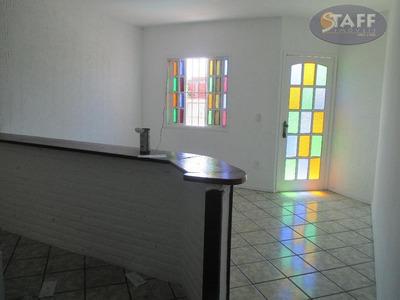 Casa Com 02 Dormitórios Para Locação Fixa, 68 M² Por R$ 800,00/mês - Bairro Jardim Olinda - Cabo Frio-rj - Ca0618