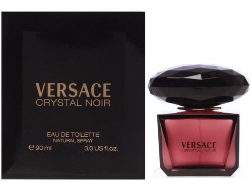 Imagen 1 de 2 de Versace Crystal Noir De Versace Eau De Toilette 90 Ml.