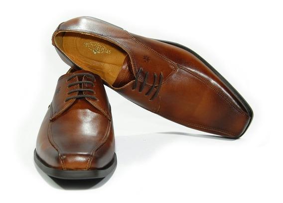 Zapatos Vestir Cuero Vacuno Justicialistas Scalabrini Marrón