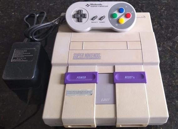 Super Nintendo Completo Acessórios Originais Mk3 Ultimate