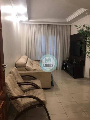 Imagem 1 de 12 de Apartamento Com 2 Dormitórios À Venda, 73 M² Por R$ 385.000,00 - Rudge Ramos - São Bernardo Do Campo/sp - Ap1601