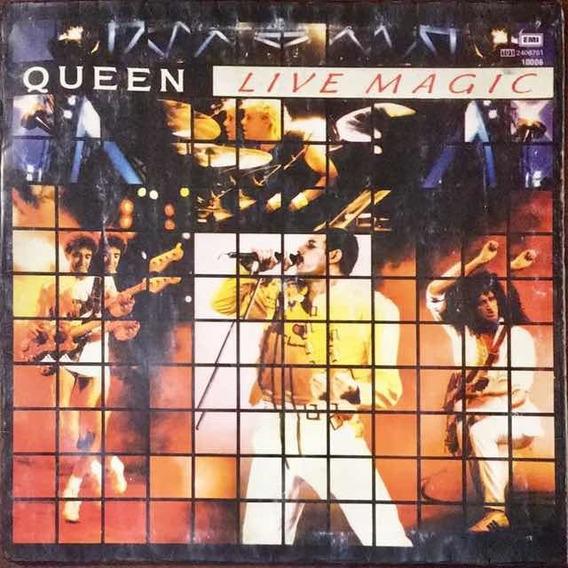 Lp Queen - Live Magic 1986