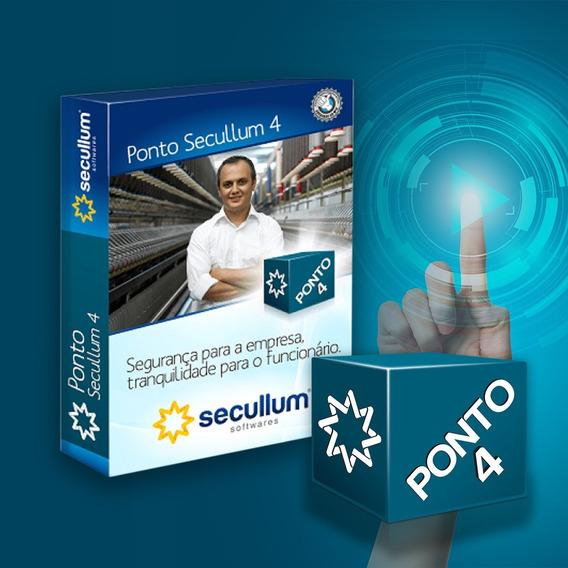 Ponto Secullum 4 Mensal S/ Suporte - Licença Original - Go