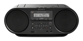 Radio Sony Portátil Con Cd Y Bluetooth Zs-rs60bt