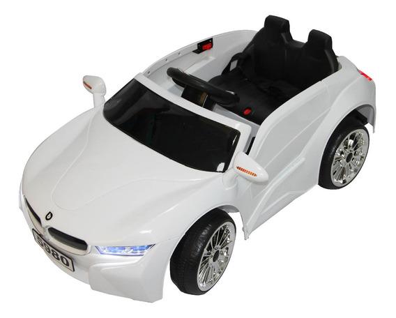 Auto A Batería Control Remoto Rs-5980 Blanco
