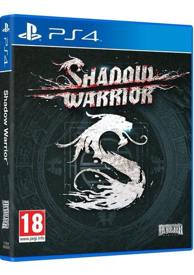 Shadow Warrior Ps4 Mídia Física Novo Lacrado