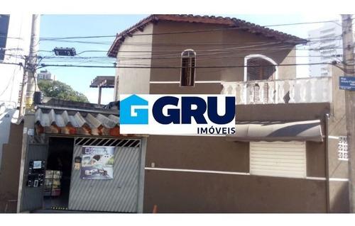 Casa Terrea Localizada No Centro De Guarulhos - Cac249