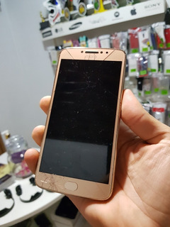 Motorola Moto E4 Plus E4+ Com Placa Mãe E Tela Com Defeito
