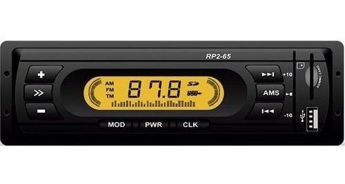 Imagem 1 de 1 de Rádio Mp3 Player Loud Rp2-65 Mp3 Fm Usb Sd Mmc 4x10w