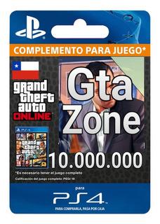 Gta V Online Dinero 10.000.000 Ps4