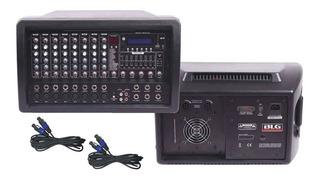 Consola Potenciada 8 Canales 300 Watts Usb Bluetooth Oferta