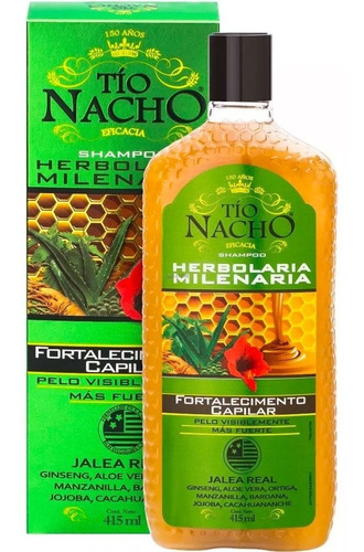 Shampoo Tío Nacho Herbolaria 415ml