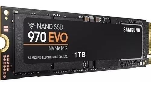 Ssd M.2 1tb Samsung 970 Evo Nvme 3400 Mbps 5 Anos Garantia
