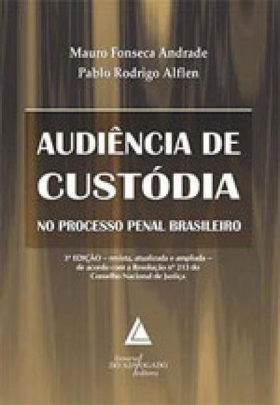 Audiencia De Custodia No Processo Penal Brasileiro