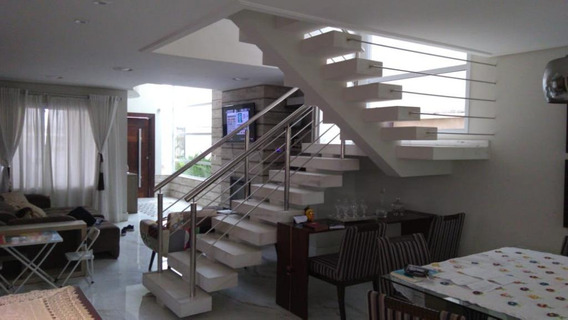 Sobrado Com 3 Dormitórios Em Condomínio De Alto Padrão, À Venda - So7093