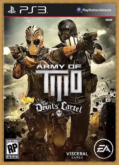Army Of Two The Devils Cartel Mídia Digital Ps3 Psn Envio Já